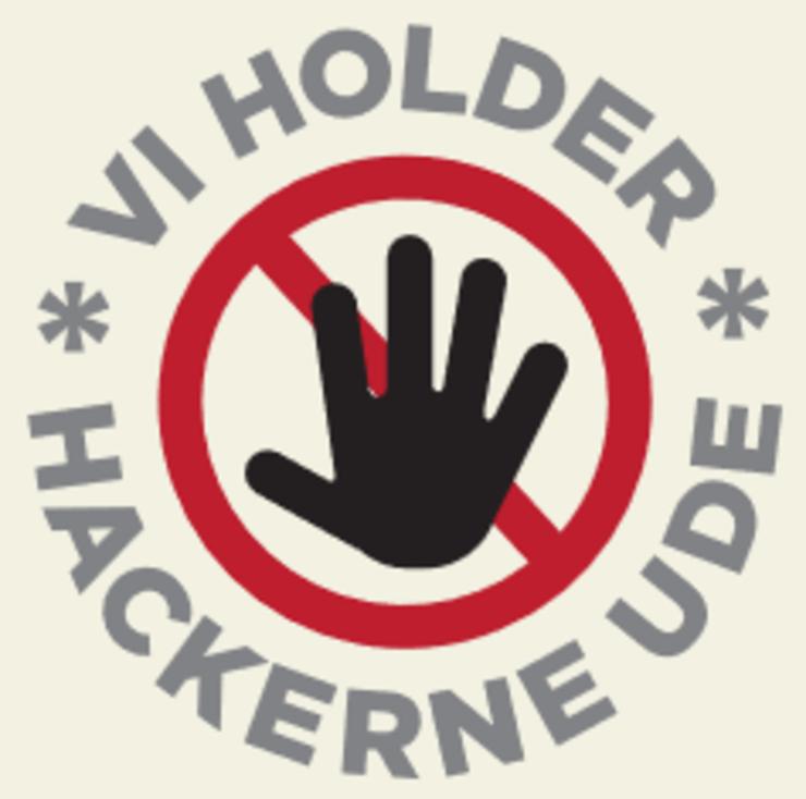 vi holder hackerne ude
