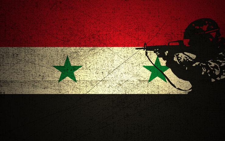 Syrien - Syriske Flag