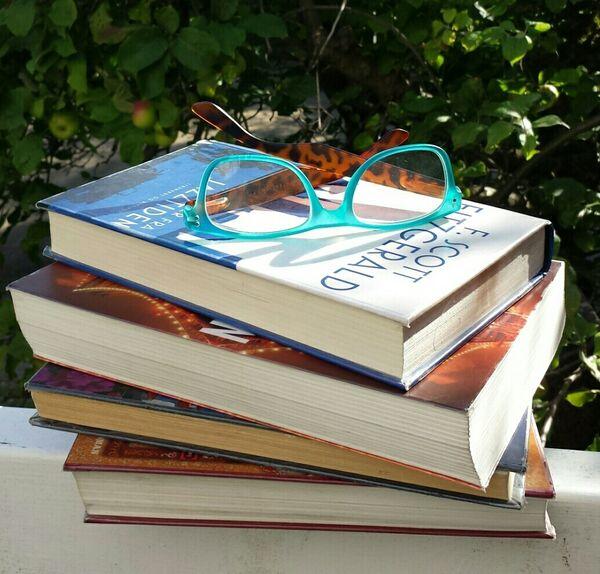 Læsegruppe - billede - briller
