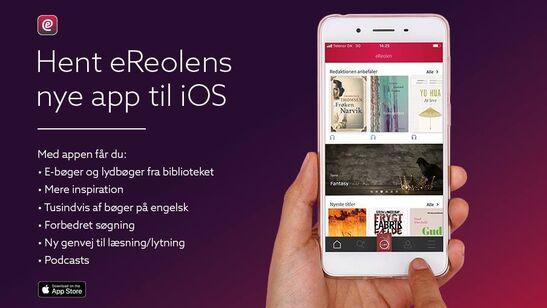 Hent eReolens nye app til IOS