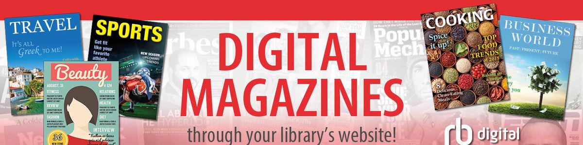 RBdigital tilbyder adgang til et væld af tidsskrifter