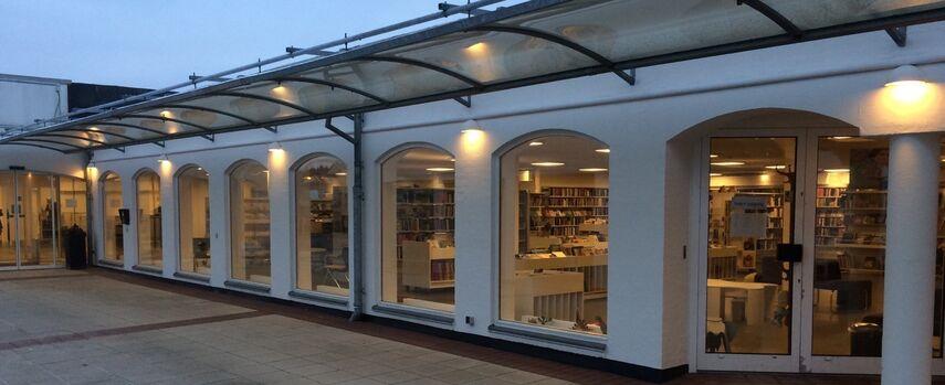 Ry Bibliotek - billedet er taget af Peer Thøgersen
