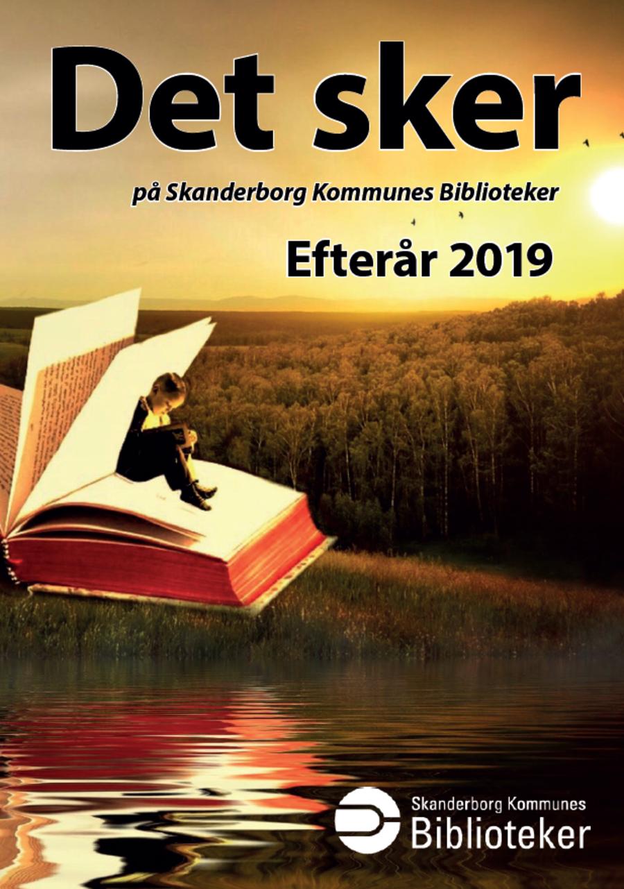 Arrangementsfolder efteråret 2019