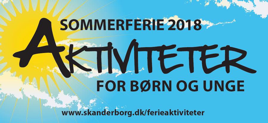 Sommerferieaktiviteter 2018