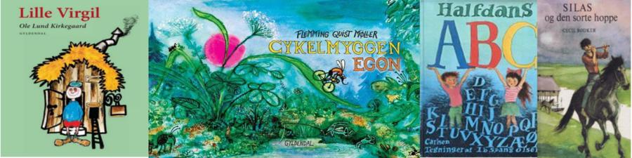 Arven fra 1967 - børnebøger