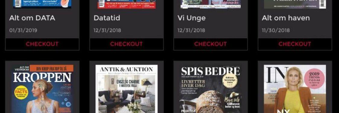 Få adgang til en række magasiner via RB-digital
